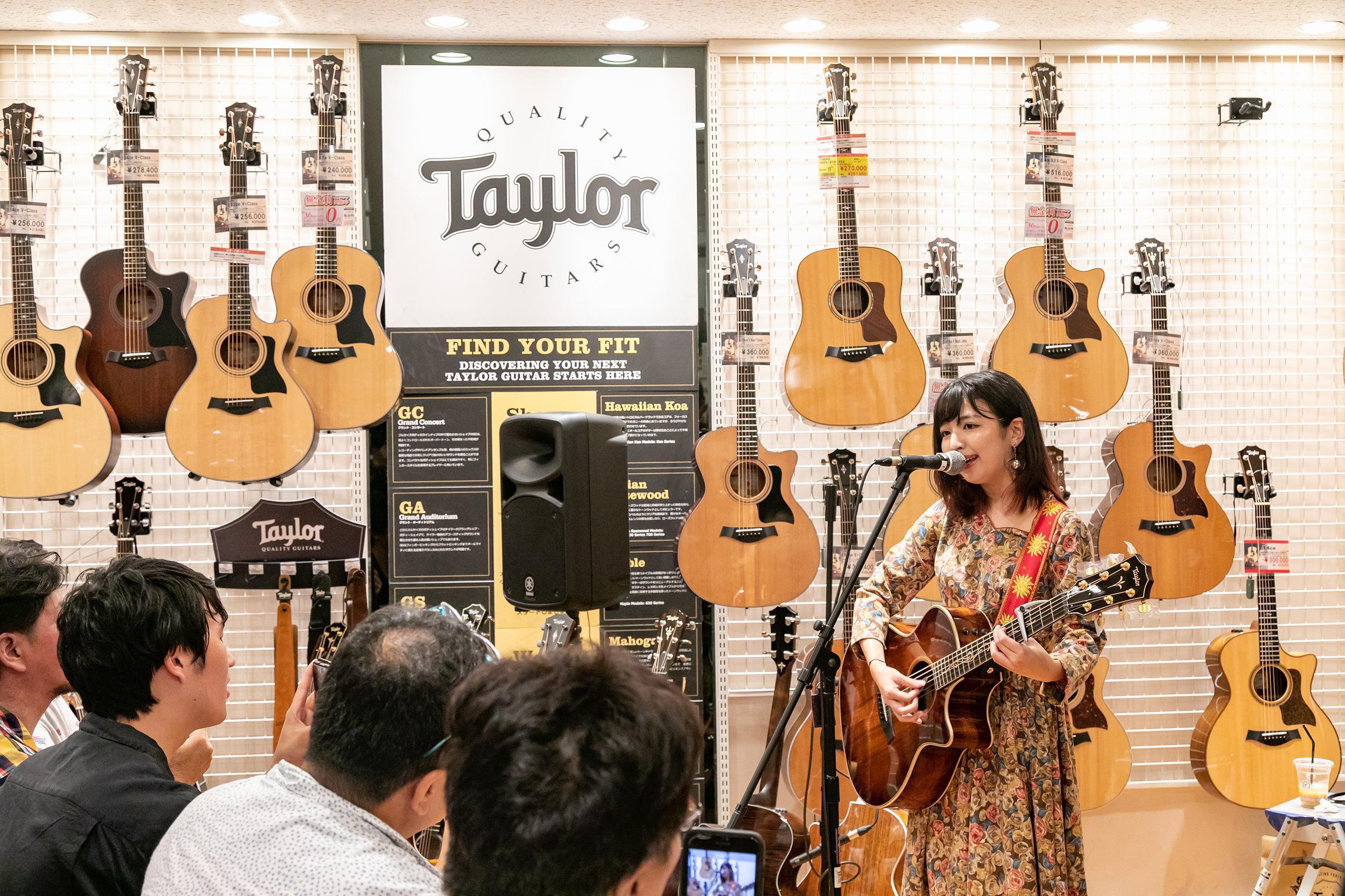 武田舞彩,テイラーギター
