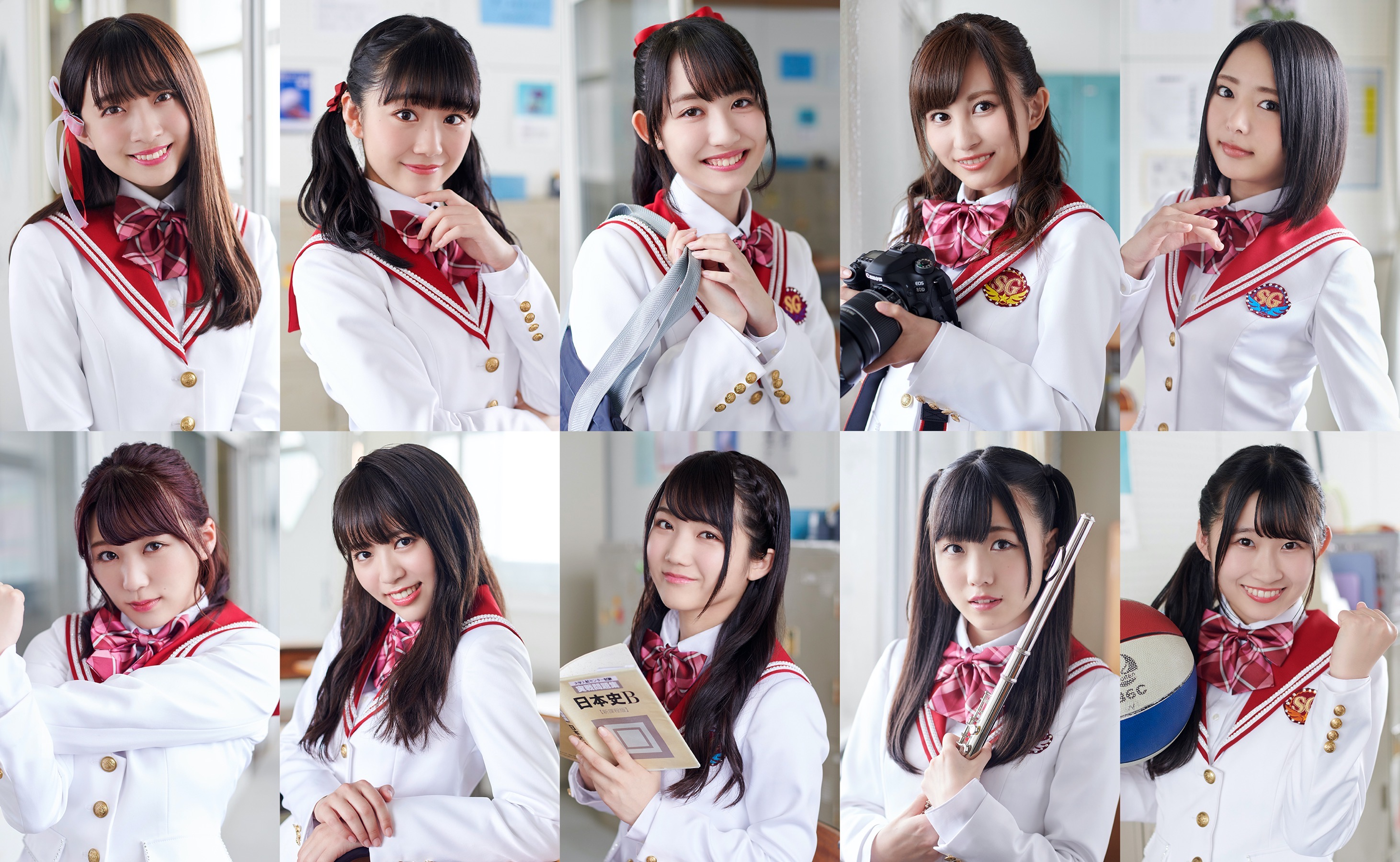via SUPER☆GiRLS official site